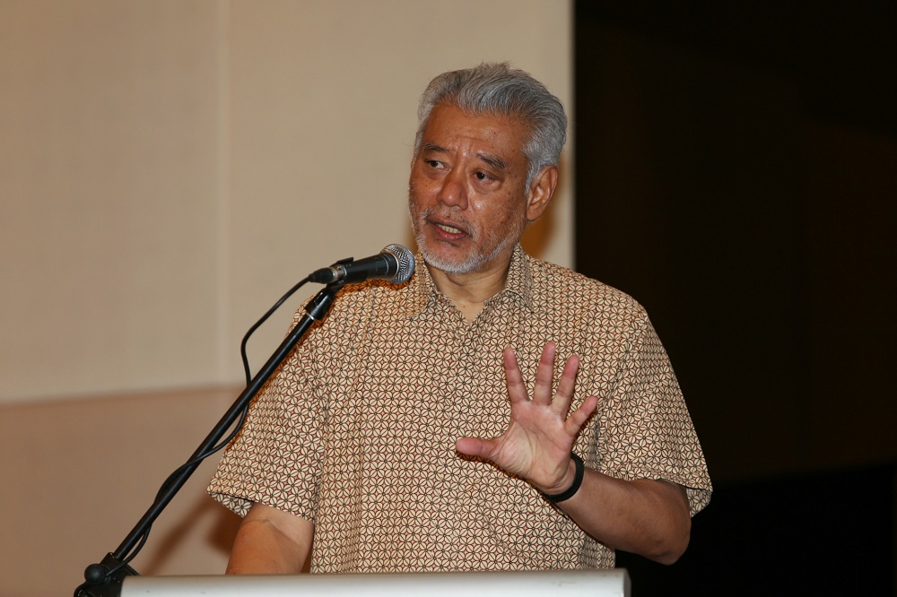 Khazanah Research Institute senior advisor Professor Jomo Kwame Sundaram opined that now is the best time to introduce taxes that do not generate revenue immediately, as many were badly impacted by the pandemic. — Picture by Choo Choy May