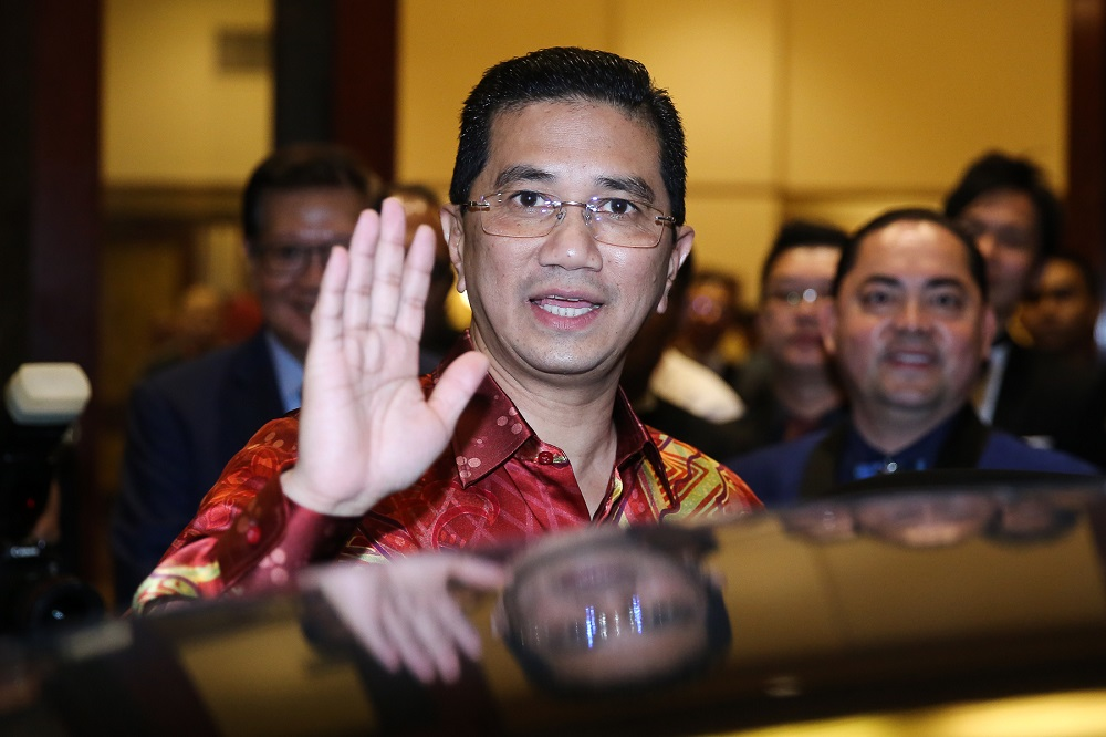 Azmin added that education is the cornerstone of nation-building. — Picture by Yusof Mat Isa