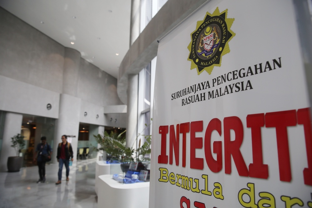 MACC Deputy Chief Commissioner (Prevention) Datuk Shamshun Baharin Mohd Jamil said the move to have MACC officers in the mentris besar and chief ministers' offices was an initiative by Chief Commissioner Latheefa Koya. — Picture by Choo Choy May