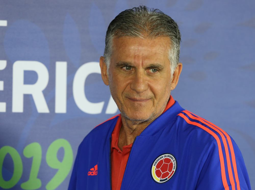 Including friendlies in March and May, Colombia have won six out of seven matches under the stewardship of Portuguese Carlos Queiroz. ― Reuters pic