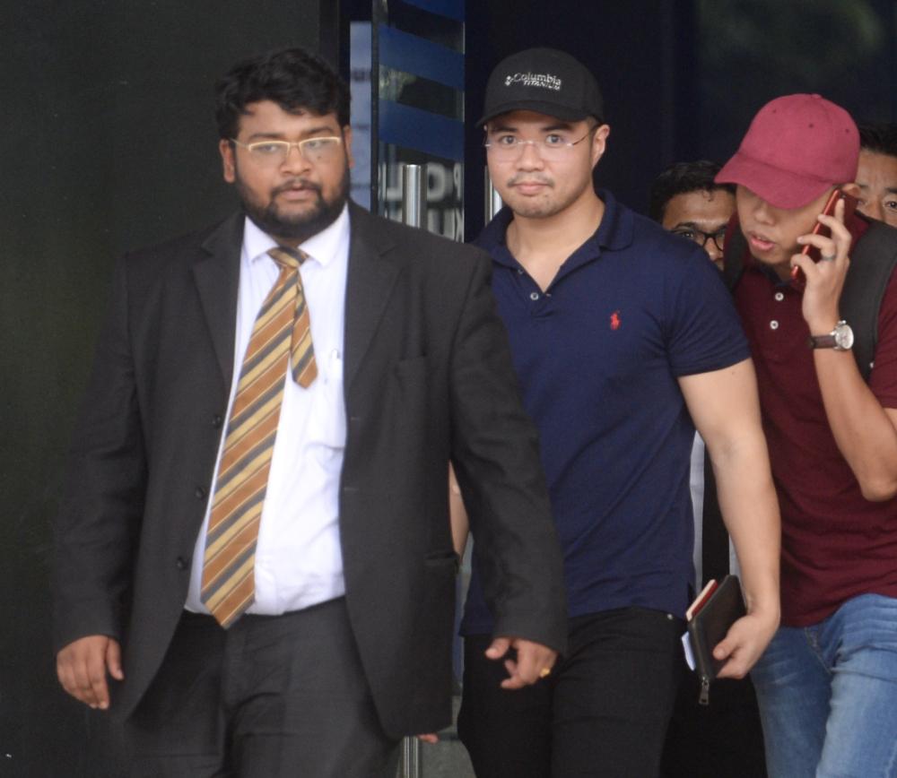 Haziq said he hopes Dr Mahathir remains impartial over the sex scandal.