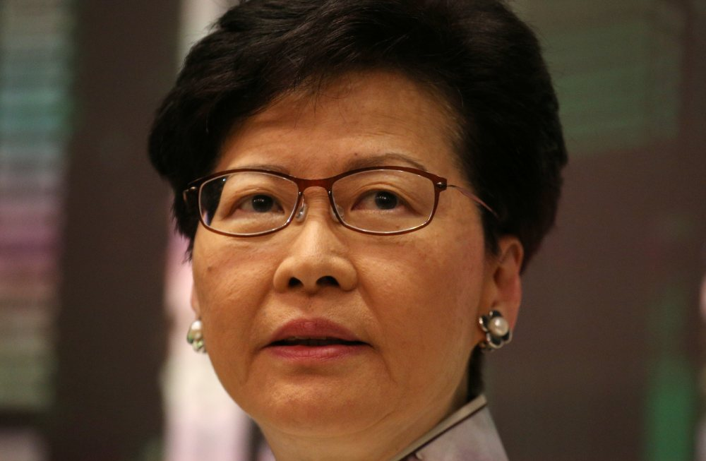 Hong Kong Chief Executive Carrie Lam's ouster is unlikely to allay the concerns of Hong Kong's protesters. ― Reuters pic