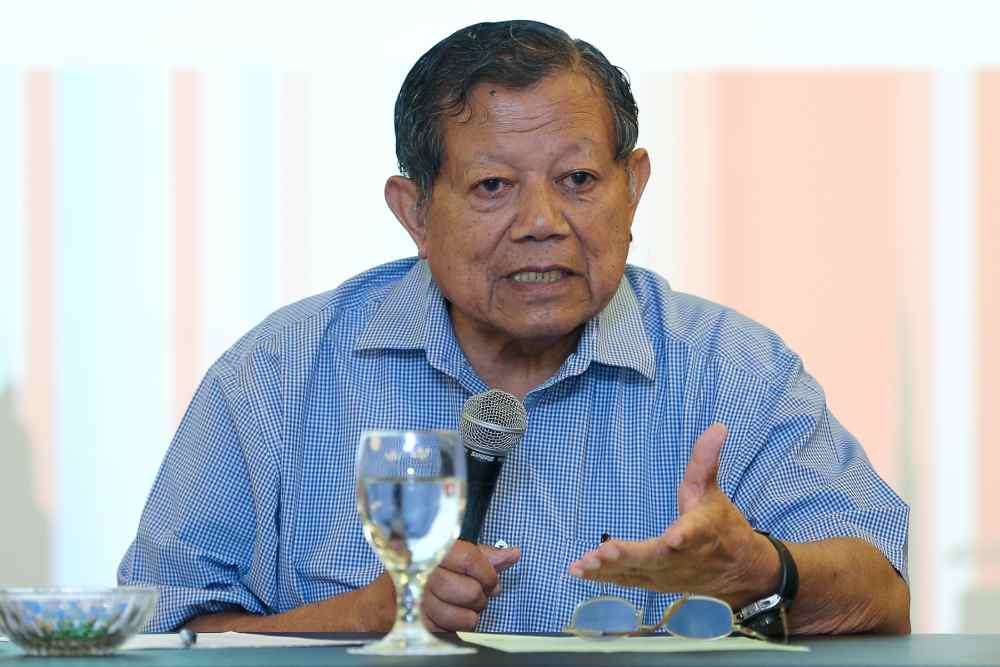 Malaysian Nature Society adviser Tan Sri Salleh Mohd Nor says this conservation initiative would take the Kuala Lumpur city a long way forward at little cost. ― File picture by Yusof Mat Isa