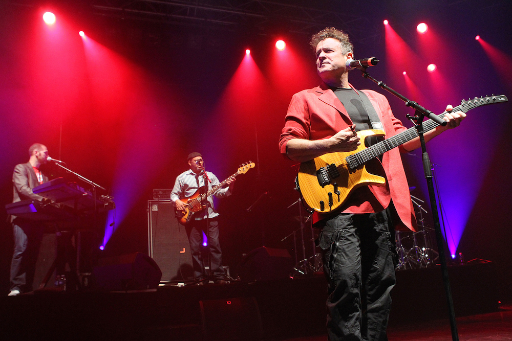 South African musician Johnny Clegg mastered the language, culture and high kicks of Zulu dance, creating two multi-racial bands in defiance of the segregationist laws of the apartheid-era government, which censored his work. — AFP pic