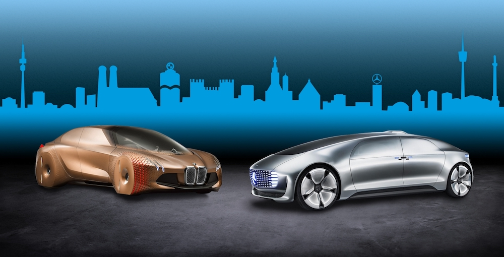 BMW and Daimler are teaming up to develop almost autonomous vehicles by 2024. — Handout via AFP