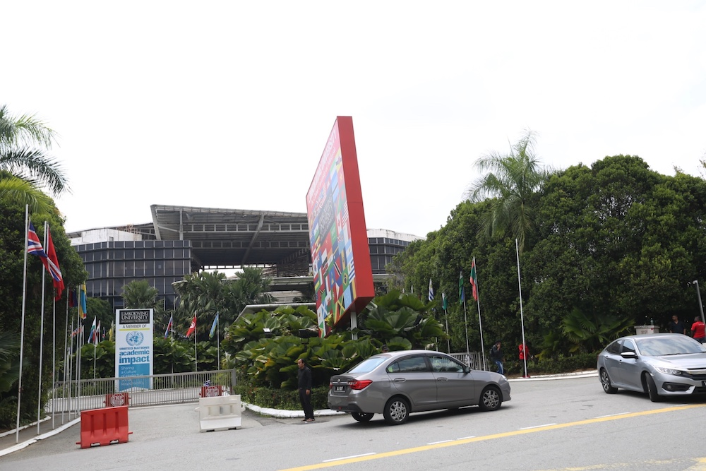 General view of Limkokwing University of Creative Technology in Cyberjaya July 12, 2019. — Picture by Choo Choy May