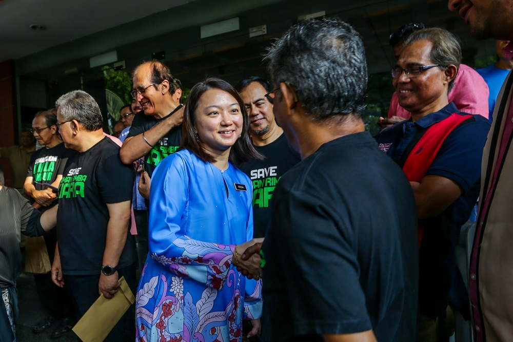 Yeoh said she had requested a meeting with newly appointed MACC chief Latheefa Koya to discuss the issue.