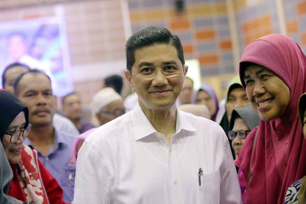 In a statement, Azmin said the SPV2030 will spearhead development in a sustainable manner, in line with a fair, equitable and inclusive economic distribution. — Picture by Farhan Najib