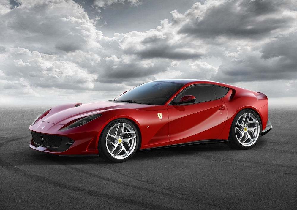 The Ferrari 812 Superfast will reportedly be available as a Spider edition. — Handout via AFP