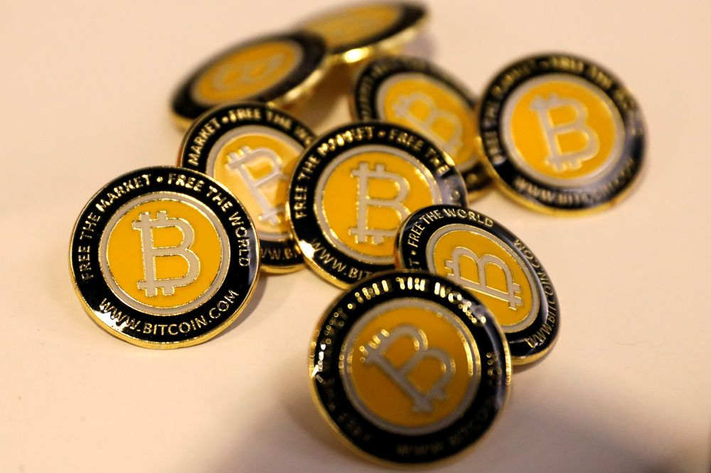 In late European trading, the virtual currency was worth US$17,502 and was headed towards its record of US$19,041 reached in late 2017. — Reuters pic