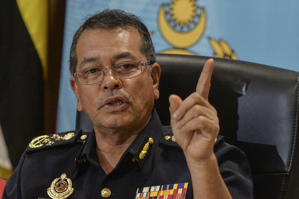 Road Transport Department director-general Datuk Seri Shaharuddin Khalid speaks during a press conference in Putrajaya July 26, 2019. — Picture by Shafwan Zaidon