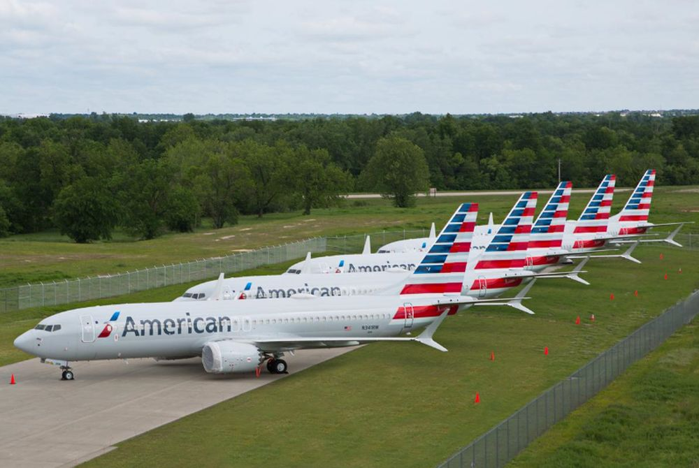 American Airlines confirmed yesterday it had signed a letter of intent with the Treasury for a US$4.75 billion loan, and hopes to finalise the terms by the end of September. — American Airlines/handout pic via Reuters