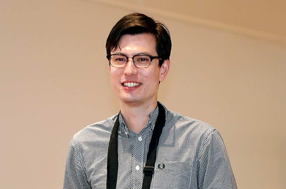 Australian student Alek Sigley, 29, who was detained in North Korea, arrives at Haneda International Airport in Tokyo, Japan July 4, 2019. — Reuters pic
