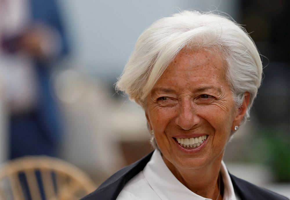 International Monetary Fund Managing Director Christine Lagarde arrives for the Women's Forum Americas, at Claustro de Sor Juana University in Mexico City May 30, 2019. — Reuters pic