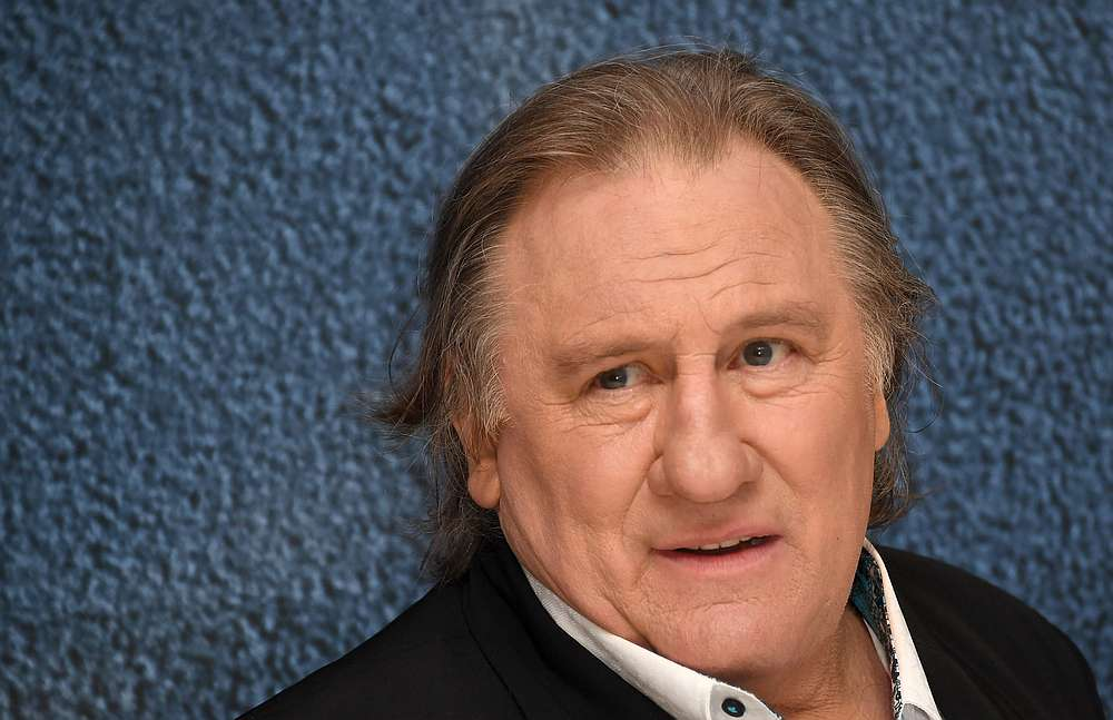 The French actor Gerard Depardieu sold his Parisian restaurant, La Fontaine Gaillon, in June. — AFP pic