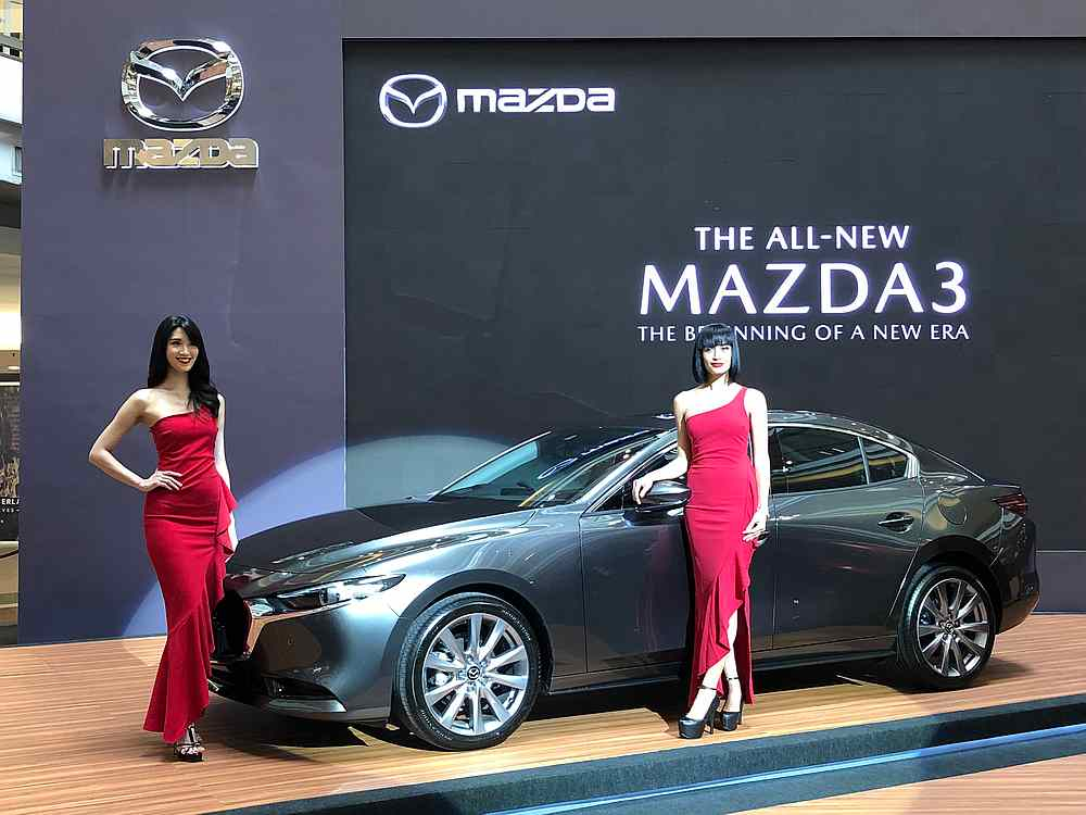 The all-new Mazda3 makes its launch debut in Malaysia with three variants and two body styles. — Bermaz Motor pic