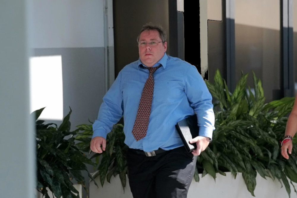 Michael Frank Hartung (pictured), who was sentenced to five-and-a-half years' jail, told undercover police officers that he could provide them with young virgin girls. — TODAY pic