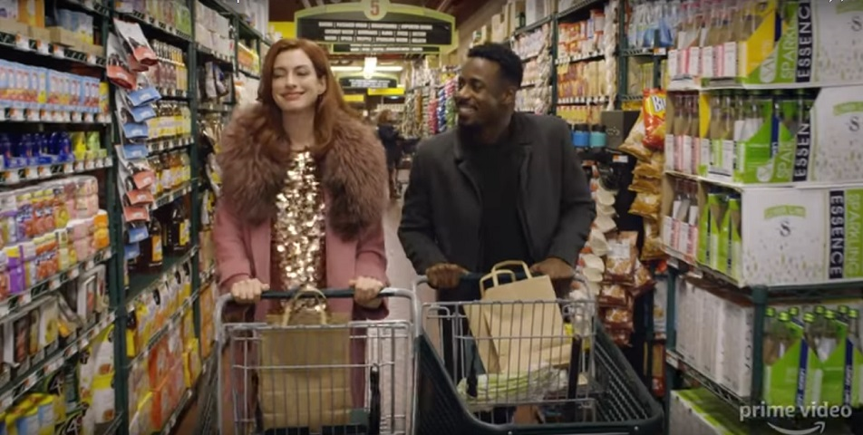 A screengrab from Amazon Prime's 'Modern Love' that stars Anne Hathaway, Tina Fey and Dev Patel among others.