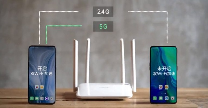 Both Oppo and Vivo are trying to speed up its WiFi performance by introducing a new dual-WiFi feature. ― Picture via SoyaCincau