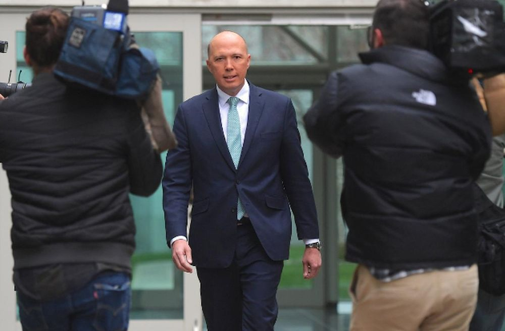 Casting further doubt over the deal with Naval Group, The Australian reported the Minister for Defence Peter Dutton will order a refit of existing Collins-class submarines. ― Reuters pic