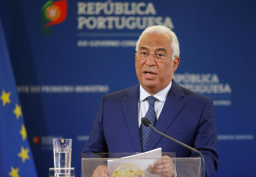 Portugal's Prime Minister Antonio Costa says the budget has very clear priorities: fighting the pandemic, protecting people and supporting the economy and employment. — Reuters pic