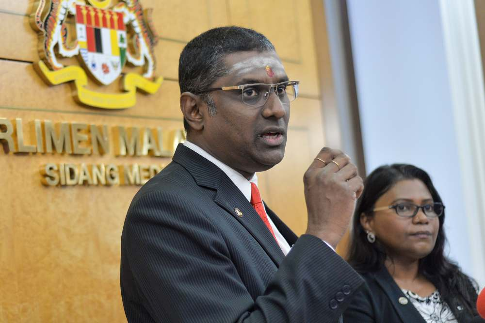 Rayer attracted negative attention after it became known he was the defence counsel of the accused Datuk Lai Chin Wah. ― Picture by Mukhriz Hazim