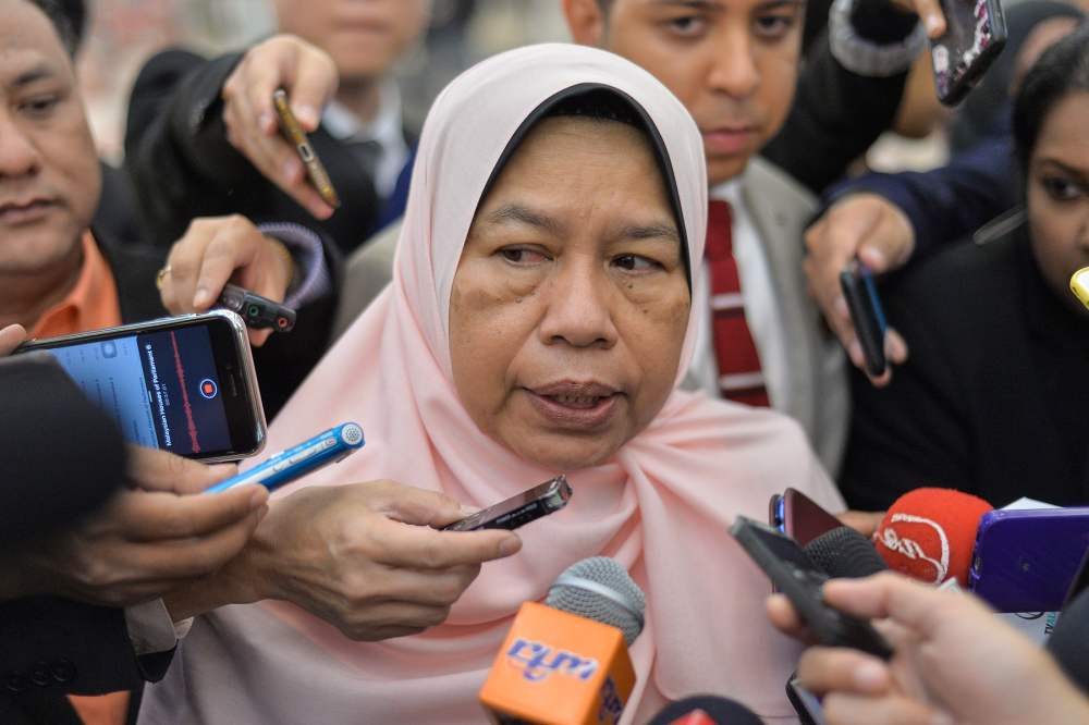 Housing and Local Government Minister Zuraida Kamaruddin said it is necessary to ensure a uniformed tax collection across the board as some of the PBT had not reviewed its taxes for over 20 years. ― Picture by Mukhriz Hazim