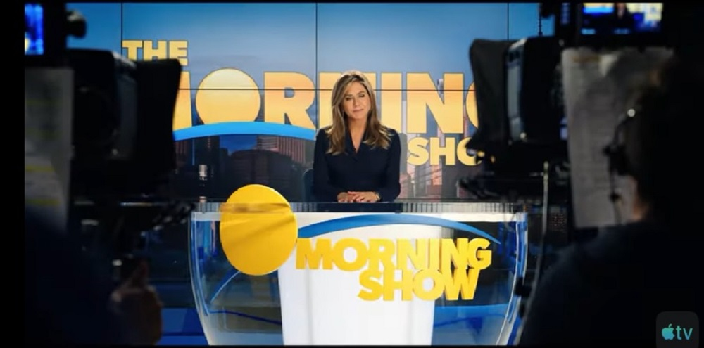 A screen capture showing a scene from Apple TV's 'The Morning Show'. — Picture courtesy of Apple TV via Youtube
