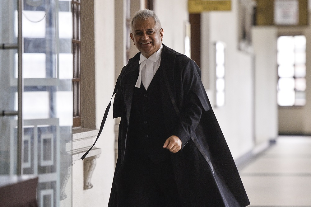 Attorney General Tommy Thomas reassured the public that the Public Prosecutors office took its responsibilities under the law very seriously, leaving no stone unturned when the IP are delivered by police.. — Picture by Miera Zulyana