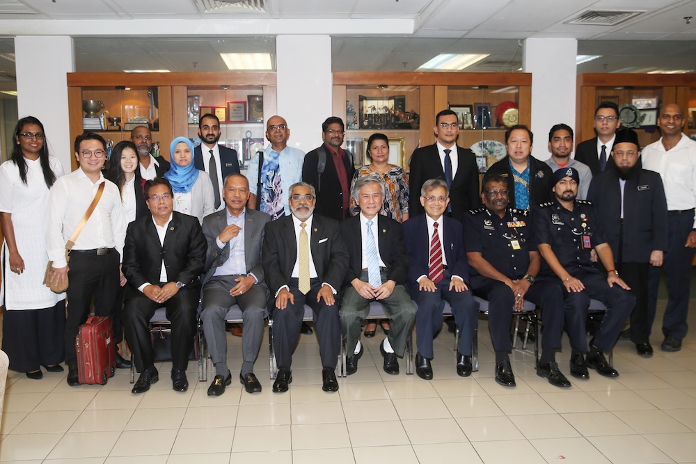 Bar Council and NGOs members attend a meeting on the Independent Police Complaints of Misconduct Commission Bill 2019 in Kuala Lumpur August 26, 2019. — Picture by Choo Choy May