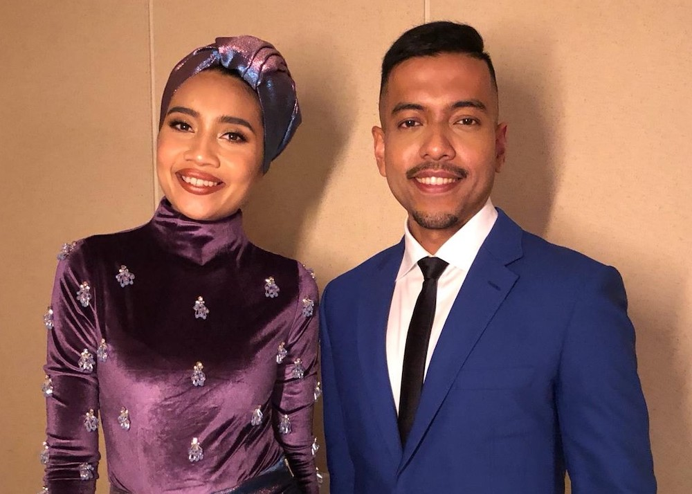 Malaysian songbird Yuna with award-winning musician Rendra Zawawi. — Picture courtesy of Rendra Zawawi