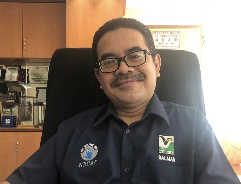 Johor Department of Wildlife and National Parks director Salman Saaban said investigations would be conducted to identify whether its personnel are involved in protecting the illegal activities. — Picture by Ben Tan