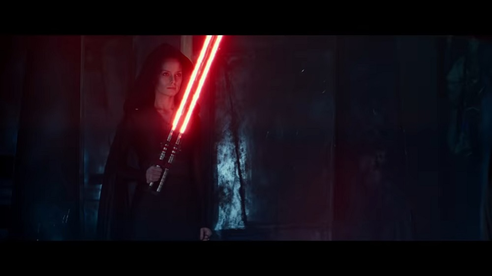 A screengrab from 'Star Wars: The Rise of Skywalker', the final film in the Star Wars trilogy.