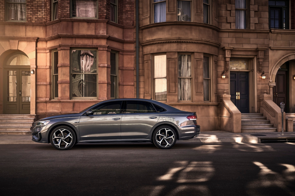 The 2020 VW Passat. Volkswagen outlined that 'nearly all' of its vehicles launched with a 2020 model year designation will come with a slew of driver-assistance features. — Picture courtesy of Volkswagen