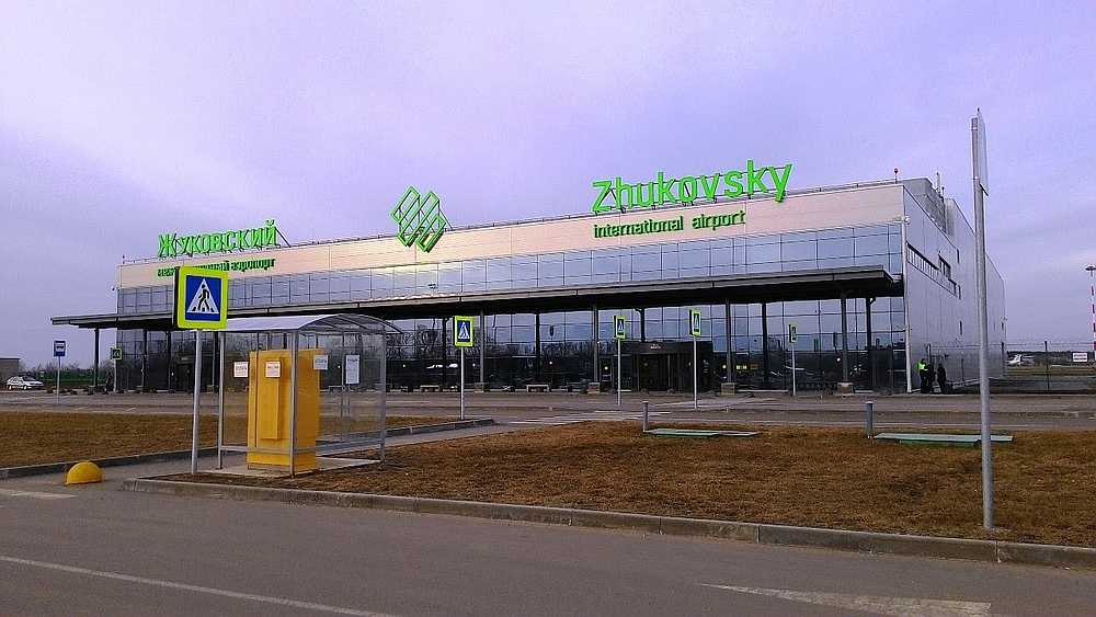 Image of Moscow's Zhukovsky International Airport from YouTube.