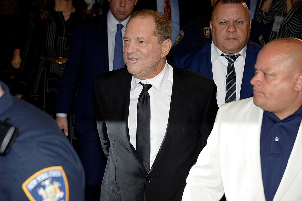 According to the charge sheet, Weinstein allegedly went to a Los Angeles area hotel on February 18, 2013 and raped a woman after pushing his way into her room. — Reuters pic
