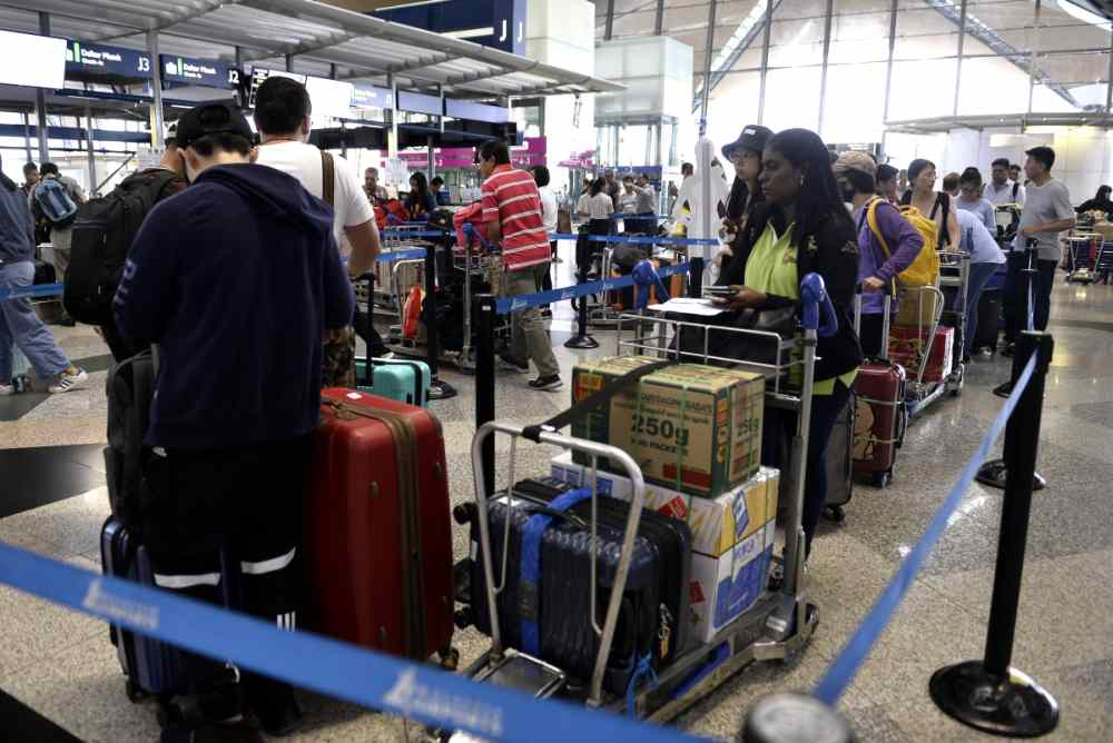 IATA says global passenger yields increased slightly in August 2019. — File picture by Miera Zulyana
