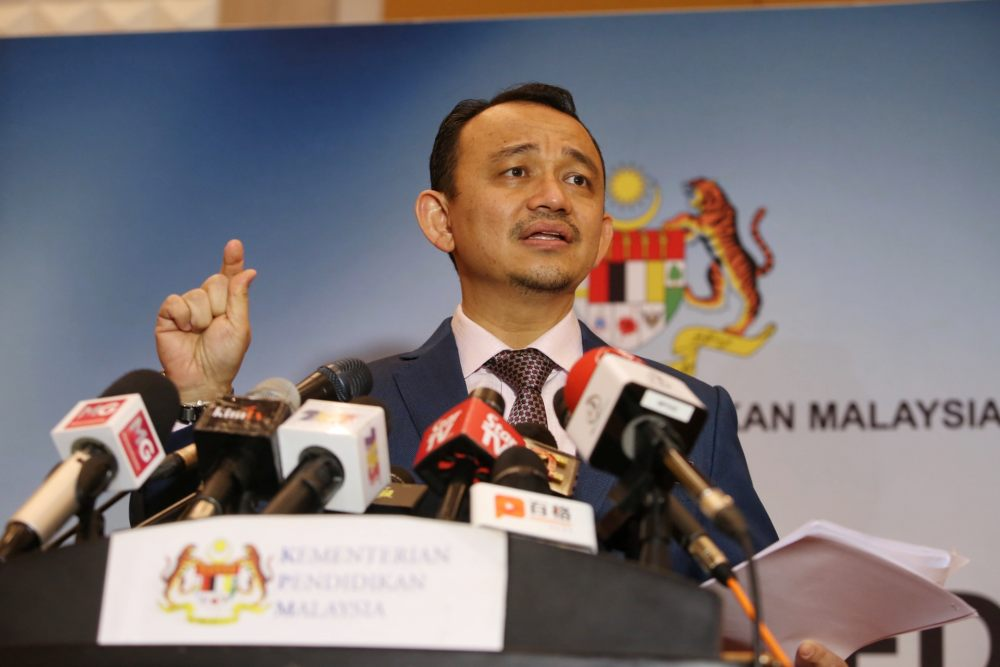 Education Minister Maszlee Malik says the annual revisions done in collaboration with the Education Ministry and the industry can prepare graduates to be more 'industry-ready' and in tune with current developments. ― Picture by Choo Choy May