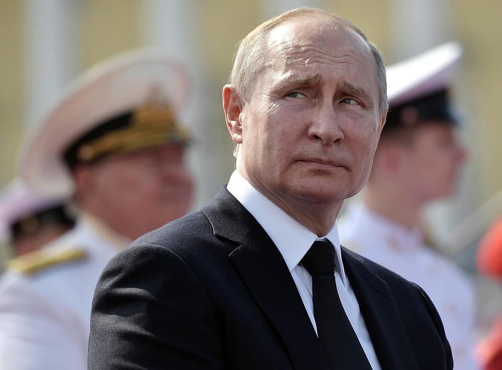 Putin has said Russia's new generation of nuclear weapons can hit almost any point in the world and evade a US-built missile shield. — Sputnik/Aleksey Nikolskyi/Kremlin pic via Reuters