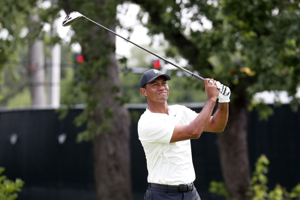 Tiger Woods (pic), Rory McIlroy, Jason Day and Hideki Matsuyama will go toe-to-toe in an extravaganza featuring special in-match challenges and surprises, floodlit finishes with holes assigned increasing monetary value. ― Picture by Brian Spurlock-USA TODAY Sports via Reuters