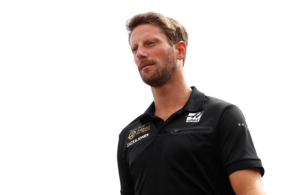 Haas' Romain Grosjean at the Belgian Grand Prix in Stavelot August 29, 2019. — Reuters pic