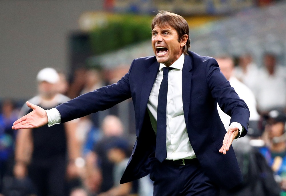 An investigation has now been launched while Conte is receiving police surveillance outside his home and at Inter's training ground, a report claimed. — Reuters pic