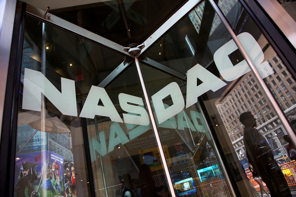 The Nasdaq registered its fifth record closing high in six days, helped by gains in Amazon.com, Microsoft Corp, Nvidia, Apple Inc. — Reuters pic