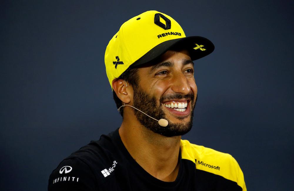 Renault's Daniel Ricciardo during a press conference ahead of the Singapore Grand Prix Formula One Singapore, September 19, 2019. — Reuters pic