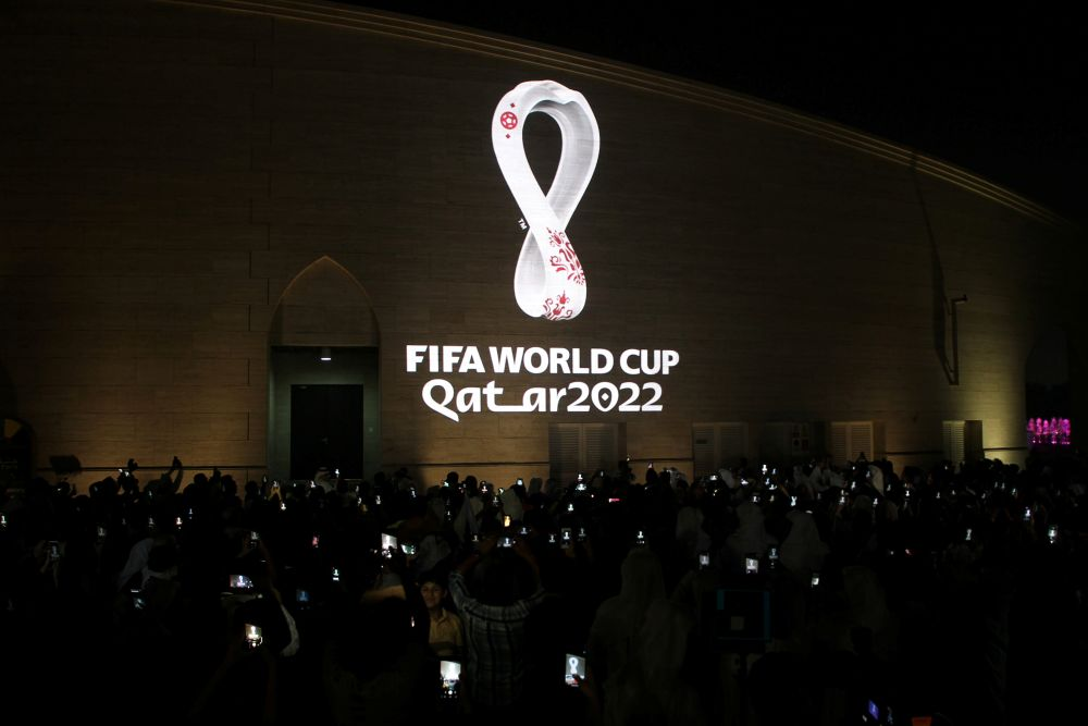 Qatar's foreign minister says the country is in talks with coronavirus vaccine makers to ensure all fans attending the 2022 World Cup in the country have been vaccinated. — Reuters pic
