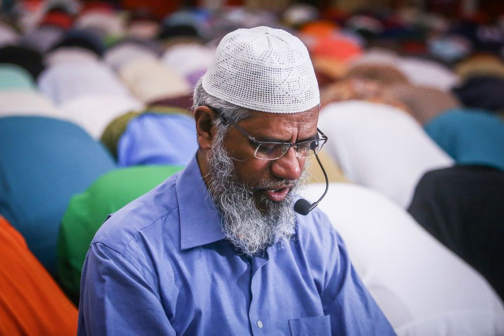 UniMAP said today it is conducting an internal investigation after a question involving controversial televangelist Dr Zakir Naik (pic) entered an examination paper. — Picture by Hari Anggara