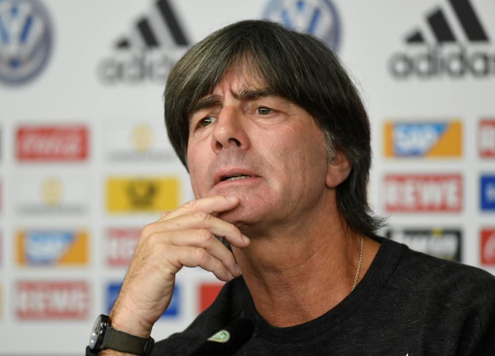 Germany coach Joachim Loew speaks during a press conference in Hamburg September 5, 2019. ― Reuters pic