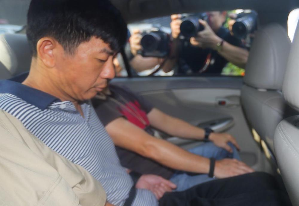 Boh Soon Ho is on trial for strangling Zhang Huaxiang to death with a bath towel in his Circuit Road flat after she rejected his sexual advances, then trying to have sex with her body. — TODAY pic