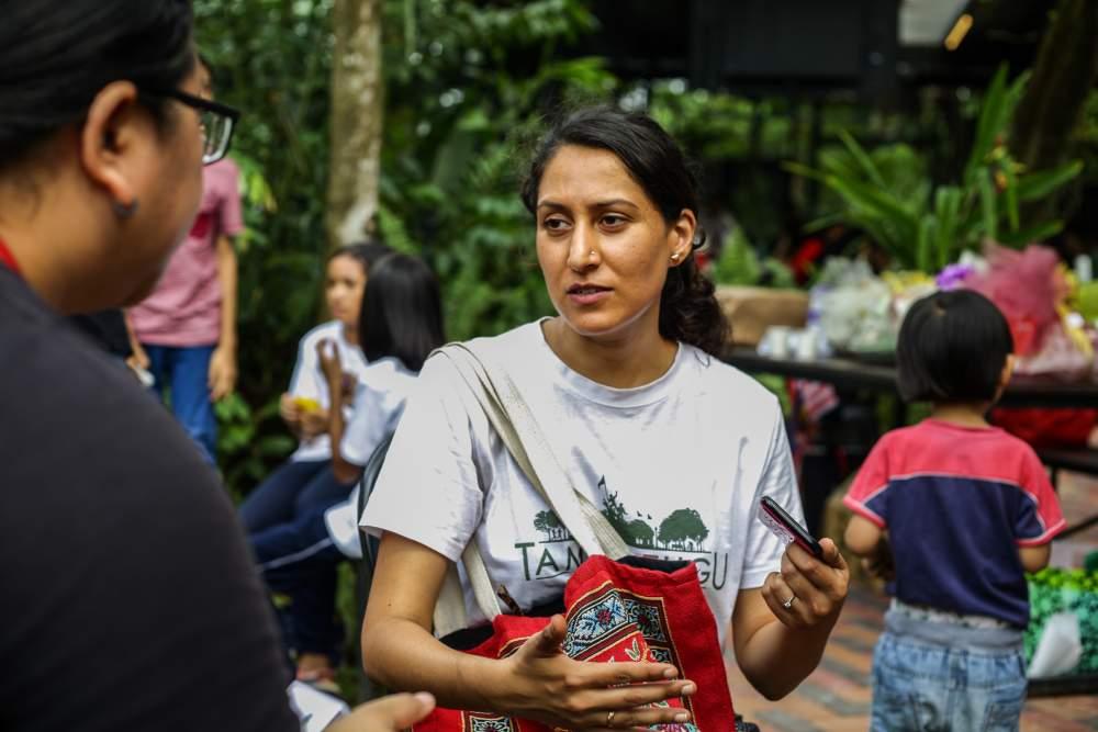 Human Library's head coordinator Mienal Hussein speaks to Malay Mail at Taman Tugu Negara in Kuala Lumpur September 8, 2019. ― Picture by Ahmad Zamzahuri