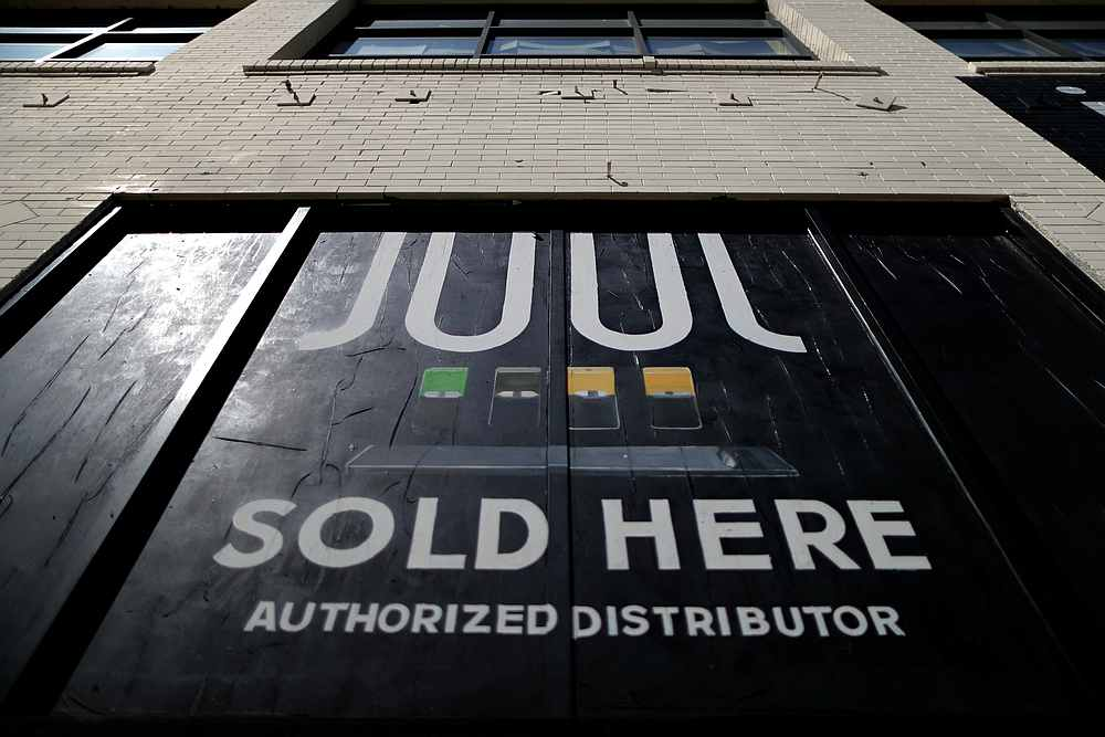 Juul could end sales in 11 countries including Italy, Germany, Russia, Indonesia and the Philippines, the paper said, noting the US, Canada and Britain accounted for 90 per cent of its sales in the first quarter. — Reuters pic